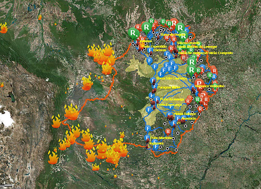 porto mapa interactivo Ecoa lança mapa interativo das Comunidades na Bacia do Alto rio  porto mapa interactivo